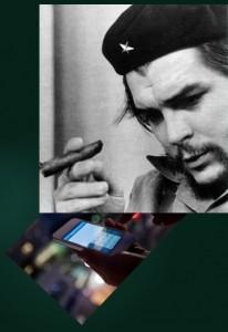 Che Guevarra met Smartphone