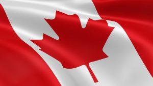 Basisinkomen - vlag Canada